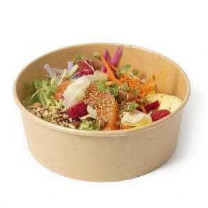 Poke bowl saumon gravlax restaurant La part des Anges Castres